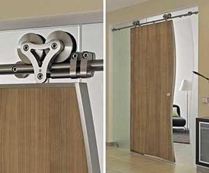 Modern Interior Rolling Barn Doors
